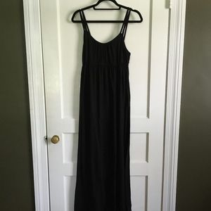 Mossimo Black Maxi Dress,, Medium